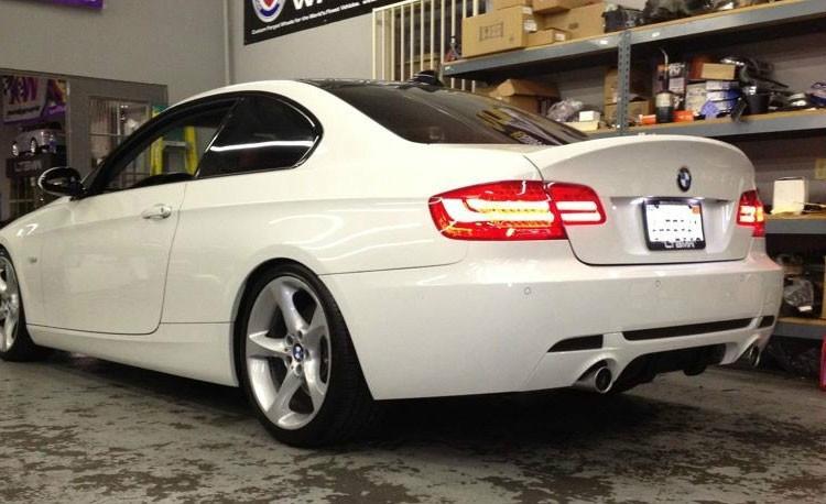 Lotka Lip Spoiler - BMW 3 E92 ABS CSL Style - GRUBYGARAGE - Sklep Tuningowy